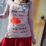 peace t shirt for women