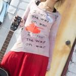 support the war on war t shirt
