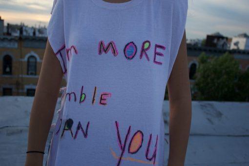 I'm more humble than you